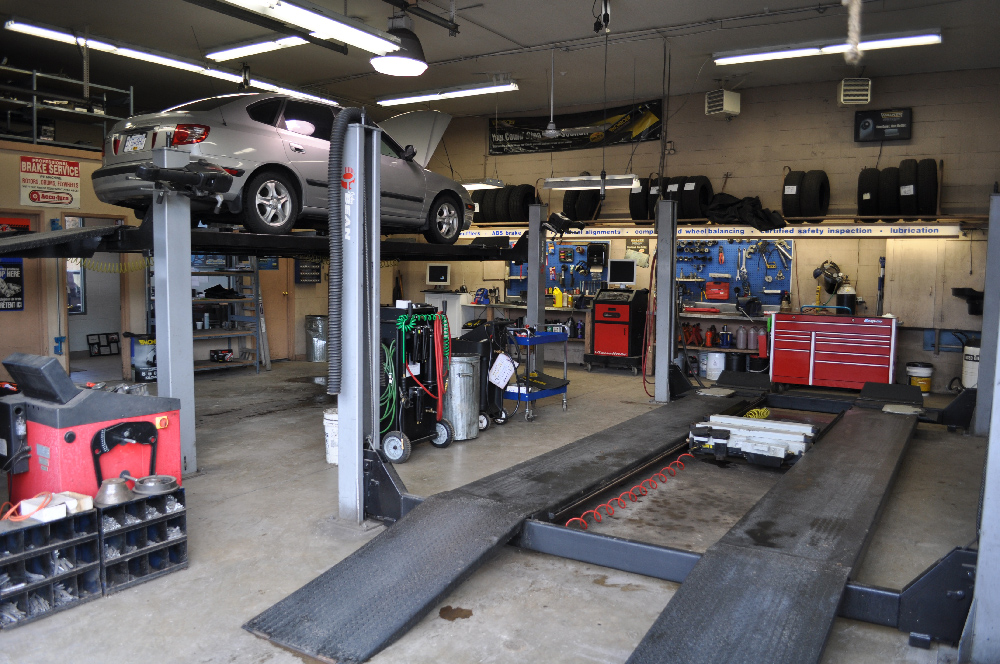 Inside Parksville Safety and Auto Centre